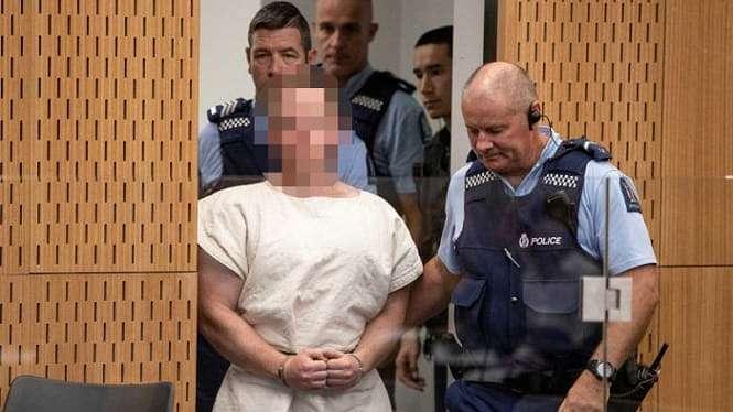 Brenton Tarrant, mendapat tambahan tuntutan dengan pasal terorisme untuk aksi penembakan di Masjid di Christchurch, Selandia Baru.