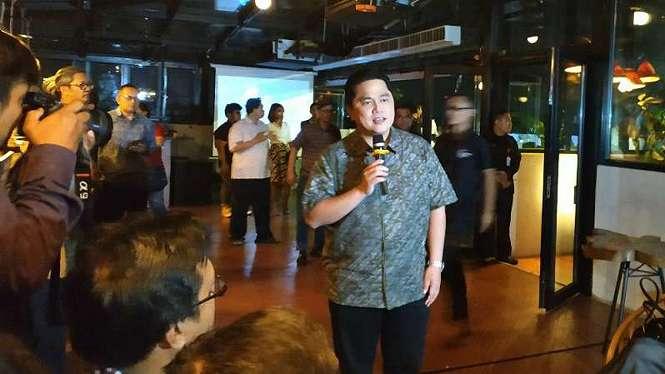 Mantan Ketua Tim Kampanye Nasional Jokowi-Ma ruf Amin, Erick Thohir