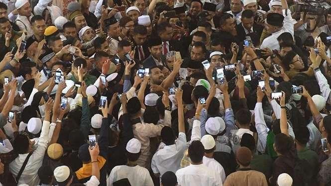 Presiden Jokowi Shalat Id di Masjid Istiqlal