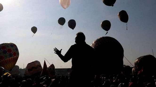 Java Balon Festival di Pekalongan