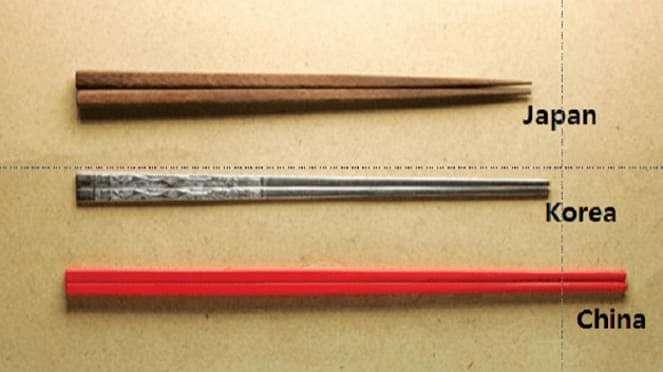 Uniknya Sejarah Perbedaan Sumpit China, Jepang, dan Korea