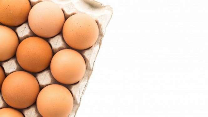 Telur ayam.