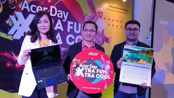 Acer memperkenalkan laptop khusus untuk para kreator