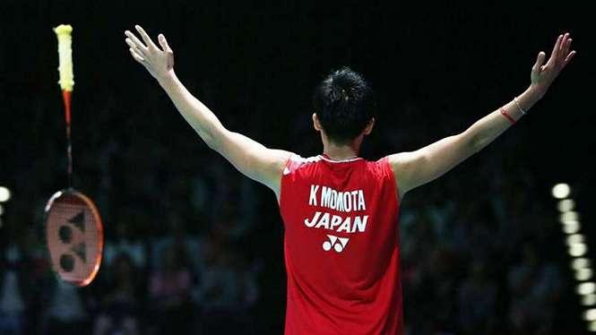 Tunggal putra Jepang, Kento Momota