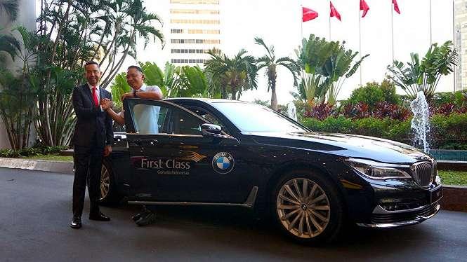 Kerja sama Garuda Indonesia dan BMW