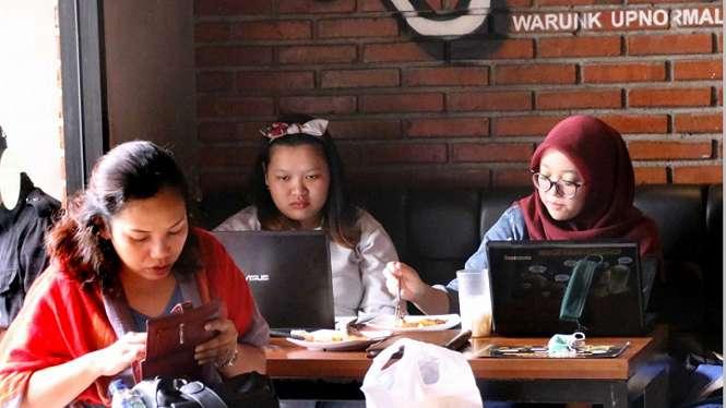 RUU Kamtansiber Hambat Inovasi dan Kreativitas Mahasiswa. (FOTO: Sufri Yuliardi)