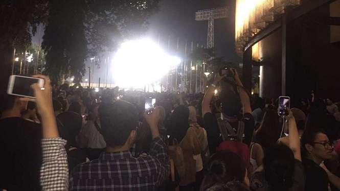 Konser Lany di Jakarta ricuh