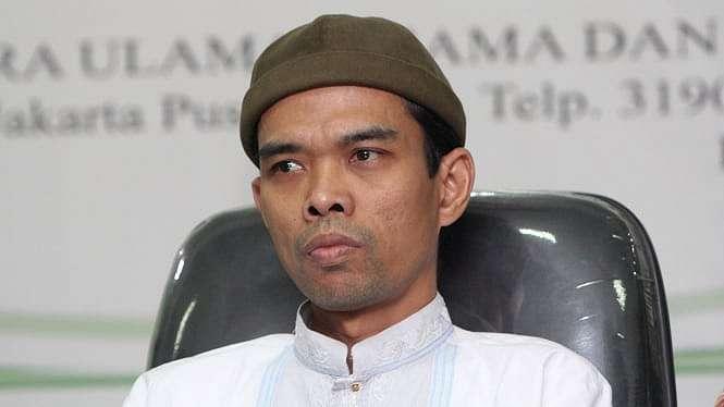 Ustaz Abdul Somad (UAS) Kunjungi MUI