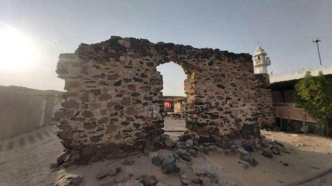 Puing-puing masjid tua Hudaibiyah, saksi sejarah Perjanjian Hudaibiyah
