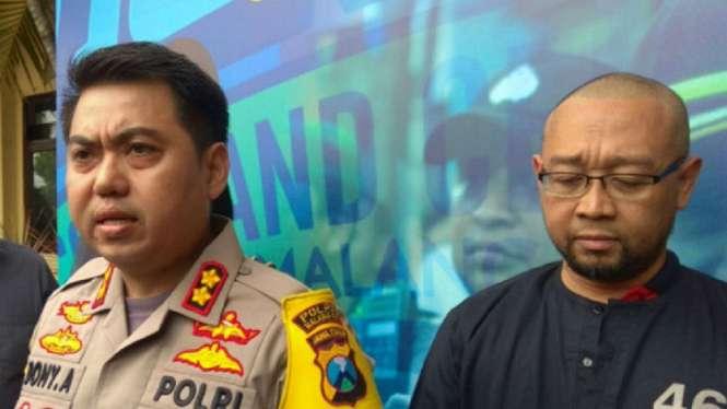 Polisi tangkap motivator penampar siswa SMK di Malang, Jawa Timur