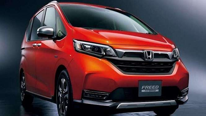 Honda Freed model year 2020