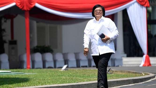 Siti Nurbaya datang ke Istana Kepresidenan Jakarta