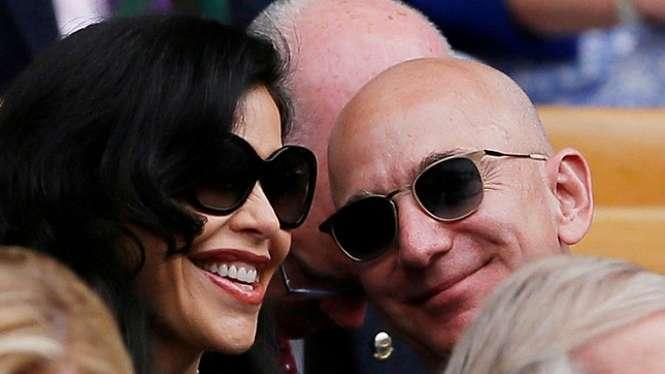 Jadi Selingkuhan Jeff Bezos, Artis Ini Ceraikan Sang Suami. (FOTO: Reuters)