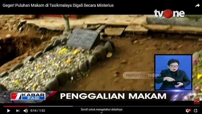 Puluhan makam digali secara misterius di Tasikmalaya