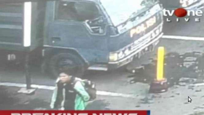 Terduga pelaku bom bunuh diri di Polrestabes Medan, Sumatera Utara.