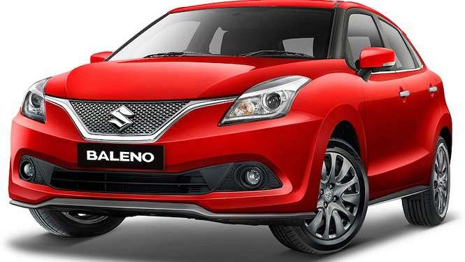 Suzuki Baleno Hatchback 2019 Merah.