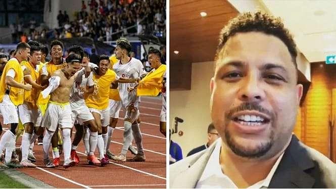 Legenda Brasil, Ronaldo doakan timnas Filipina jelang lawan Timor Leste