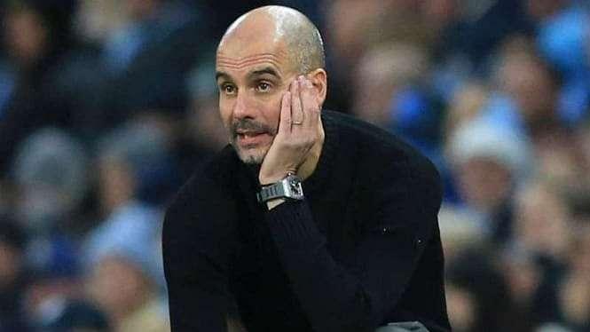 Pelatih Manchester City, Pep Guardiola.