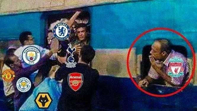 Meme kocak Premier League