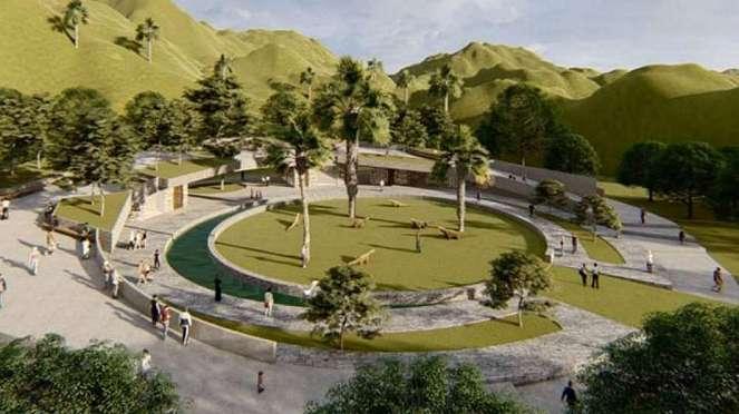Desain Jurassic Park di Pulau Rinca, Labuan Bajo.