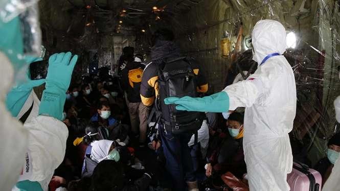 Evakuasi WNI di Wuhan Terkait Penyebaran Virus Corona.