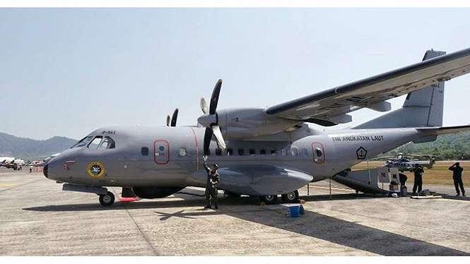 Pesawat CN-235 Gunship buatan PT DI.