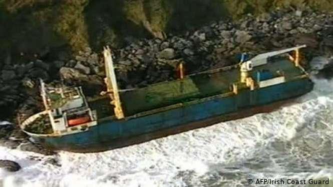 Ilustrasi kapal - AFP/Irish Coast Guard