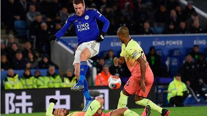 Pertandingan Leicester City vs Manchester City