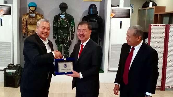 Wamenhan Filipina melakukan kunjungan resmi ke Indonesia