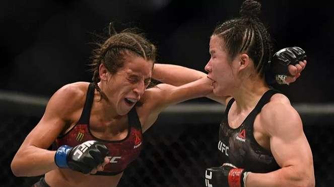 Duel Zhang Weili versus Joanna Jedrzejczyk