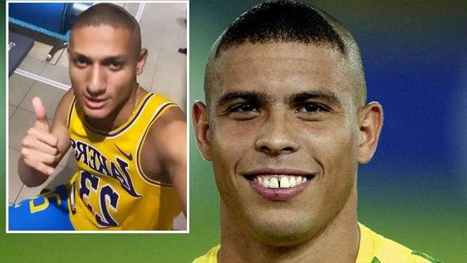 Bomber Everton, Richarlison tiru gaya rambut legenda Brasil, Ronaldo
