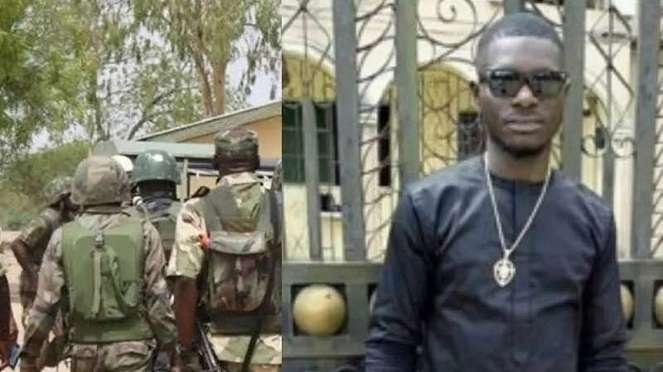 VIVA Militer: Mendiang Joseph Pessu (kanan)