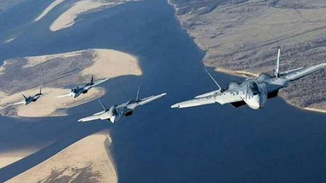 VIVA Militer: Jet siluman Rusia, Su-57.