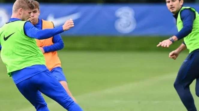 Penyerang Chelsea, Timo Werner
