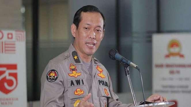 Karo Penmas Divisi Humas Polri Brigjen Pol Awi Setiyono