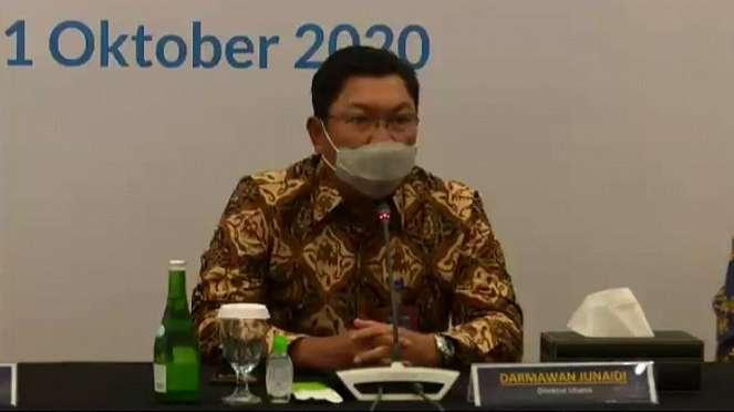 Direktur Utama Bank Mandiri, Darmawan Junaidi
