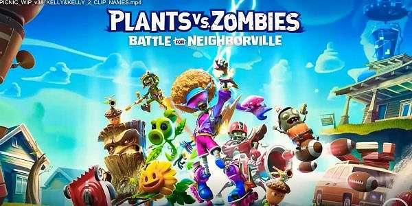 Trailer Plants vs Zombies: Battle for Neighborville Bocor!