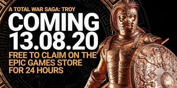 Total War: Troy Rilis Agustus, Langsung GRATIS EGS di 24 Jam Pertama!