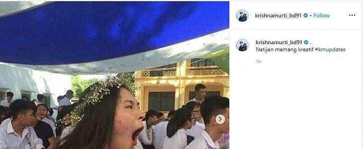 Viral Cewek Cantik Menguap, Netizen Langsung Beraksi dengan Editan Kocak