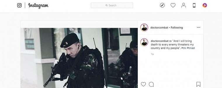 Punya Wajah Tampan Mirip Aktor Korea, Perwira TNI Ini Viral