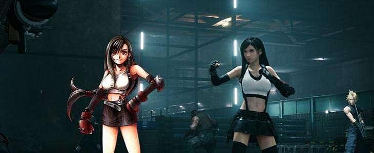 Final Fantasy VII Remake, Penampilan Baru Tifa Malah Tuai Pro-Kontra