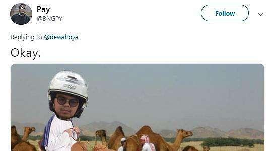 Minta Diedit Naik Haji, Netizen Ini Malah Dijadikan Meme
