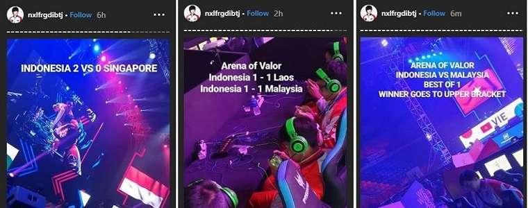 SEA Games 2019: Perjalanan Timnas AOV Indonesia Tersendat