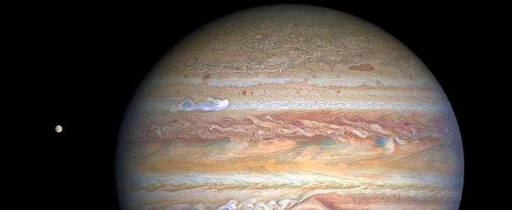 NASA Bagikan Potret Terbaru Jupiter, Cantik dan Berwarna Pastel