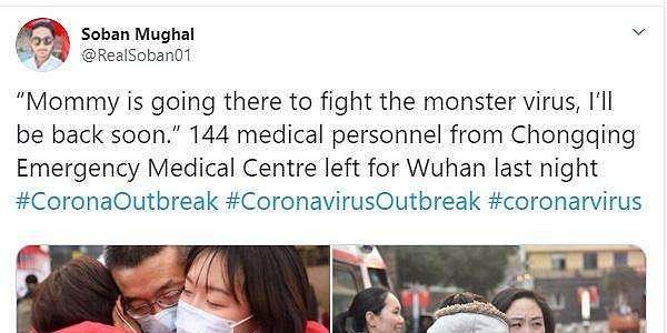 Ratusan Perawat Dikirim ke Wuhan, Momen Berpisah dengan Keluarga Memilukan