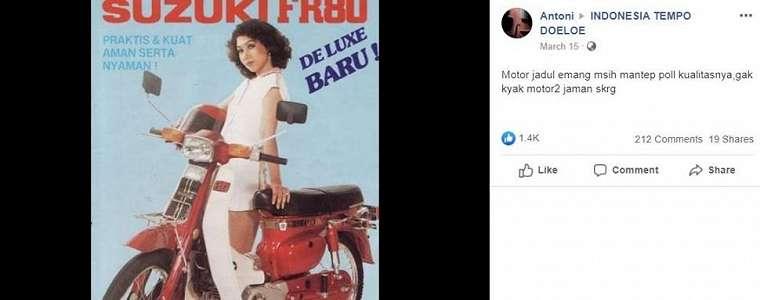 Viral Poster Motor Jadul Bikin Nostalgia, Netizen: Pernah Punya!