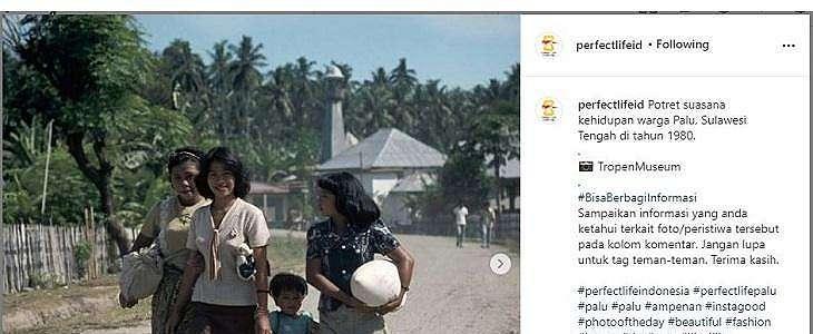 Viral Foto Jadul Kehidupan Warga Sulawesi 1980-an, Netizen Soroti Hal Ini