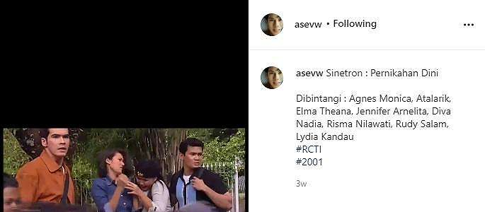 Adegan Sinetron Lawas Agnez Mo Viral, Netizen: Pas Masih Belum Disensor KPI