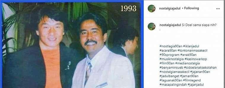 Lihat Foto Jadul Rano Karno Tahun 90-an, Netizen: Duo Legend