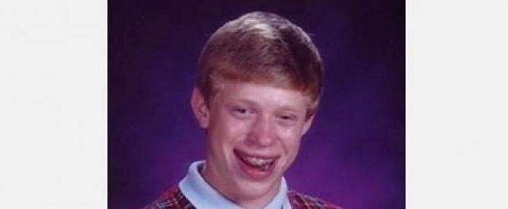 Meme Populer Bad Luck Brian Ini Berhasil Terjual Ratusan Juta